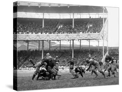 Army Navy Game at Polo Grounds Photograph - New York, NY-Lantern Press-Stretched Canvas Print