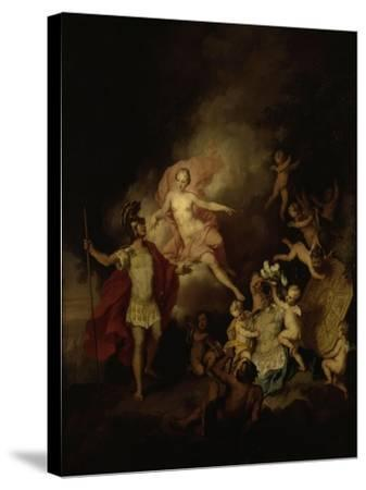 Venus and Aeneas-Christian W^e^ Dietrich-Stretched Canvas Print