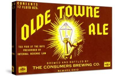 Olde Towne Ale--Stretched Canvas Print