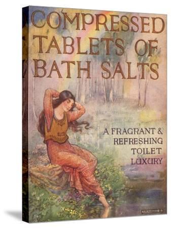Bath Salts, UK, 1920--Stretched Canvas Print