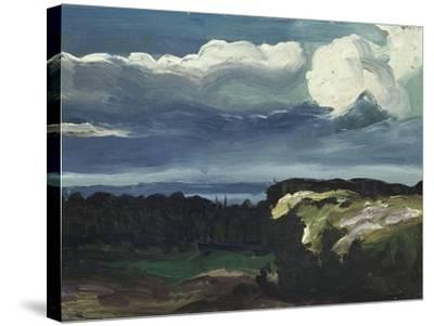 Woodstock Landscape-George Wesley Bellows-Stretched Canvas Print