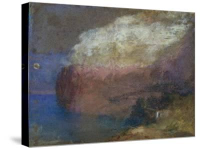 Corsica, a Wooded Headland, c.1828-J^ M^ W^ Turner-Stretched Canvas Print