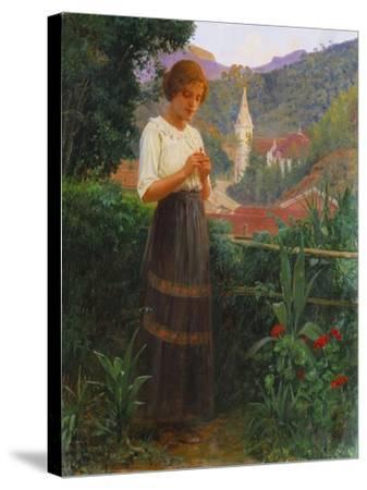 Petropolis Landscape, Paisagem de Petropolis, 1916-Joao Baptista Da Costa-Stretched Canvas Print