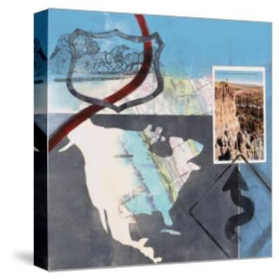Great American Road Trip II-Connie Tunick-Stretched Canvas Print