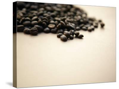 Pile of Coffee Beans--Stretched Canvas Print