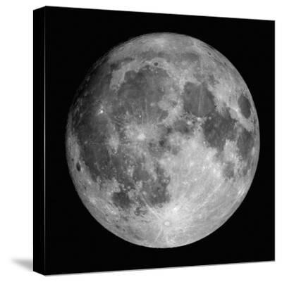 Full Moon-Stocktrek Images-Stretched Canvas Print