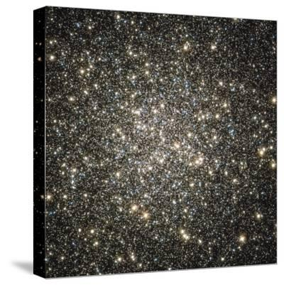 Globular Cluster M13-Stocktrek Images-Stretched Canvas Print