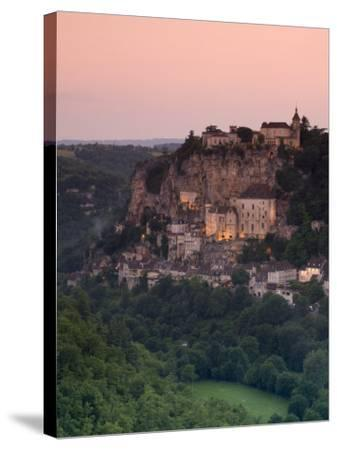 Rocamadour, Dordogne, France-Doug Pearson-Stretched Canvas Print