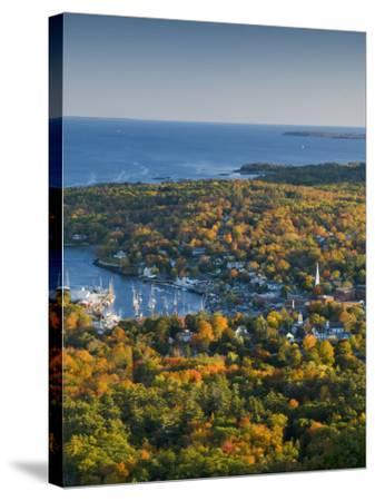 Camden, Maine, USA-Alan Copson-Stretched Canvas Print