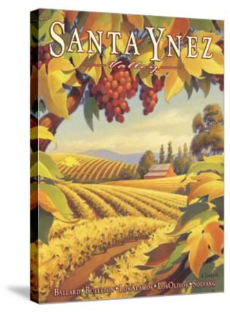 Santa Ynez Valley-Kerne Erickson-Stretched Canvas Print