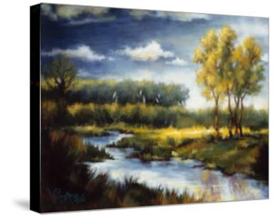Stream and Field I-J^m^ Steele-Stretched Canvas Print