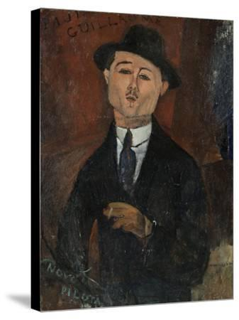 Paul Guillaume, Novo Pilota-Amedeo Modigliani-Stretched Canvas Print