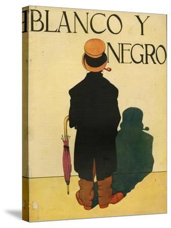 Blanco y Negro, Magazine Cover, Spain, 1930--Stretched Canvas Print