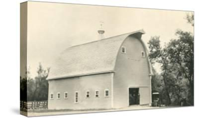 Big Barn--Stretched Canvas Print