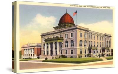City Hall, Little Rock, Arkansas--Stretched Canvas Print