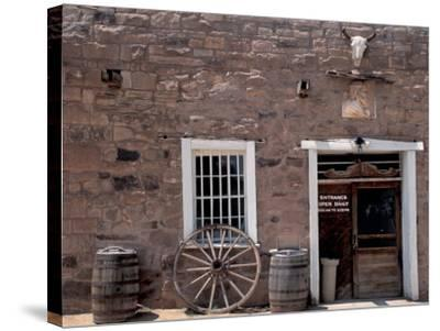 Hubbell Trading Post National Historic Site on the Navajo Nation Reservation, Arizona--Stretched Canvas Print