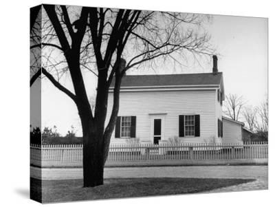 Auto Manufacture Owner Henry Ford's Home-Ralph Morse-Stretched Canvas Print