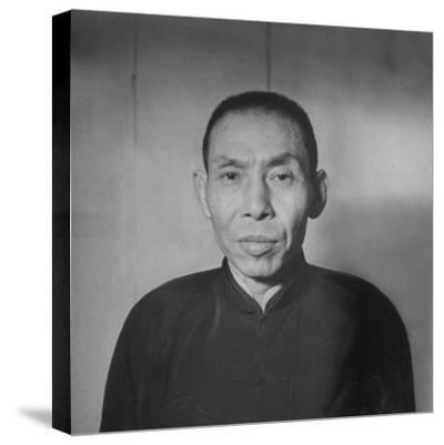 Chinese Gangster Tu Yueh-Sen--Stretched Canvas Print