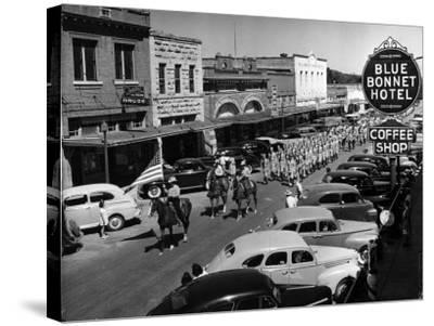 Rodeo Parade-Alfred Eisenstaedt-Stretched Canvas Print