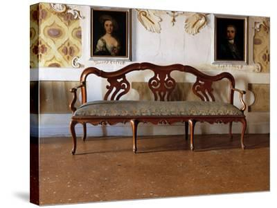 Sofa--Stretched Canvas Print