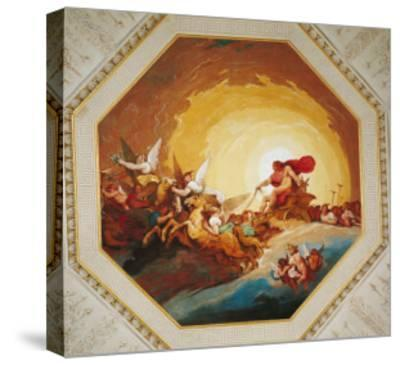 Apollo on the Chariot of Sun-Johannes Handschin-Stretched Canvas Print