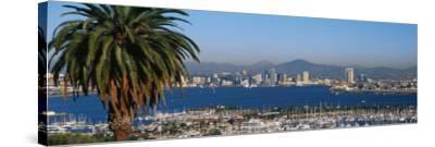 San Diego, CA--Stretched Canvas Print