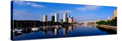 Tampa, FL--Stretched Canvas Print