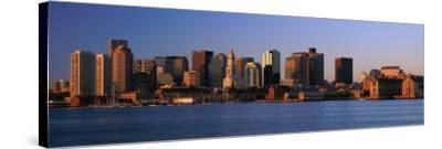 Dawn Boston, MA--Stretched Canvas Print
