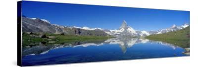 Matterhorn Zermatt Switzerland--Stretched Canvas Print