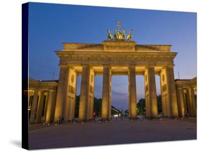 Brandenburg Gate, Pariser Platz, Berlin, Germany-Neale Clarke-Stretched Canvas Print