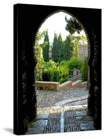 Alcazaba, Malaga, Andalucia, Spain, Europe-Marco Cristofori-Stretched Canvas Print