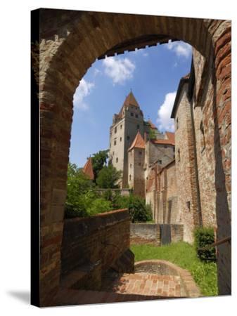 Castle Burg Trausnitz, Landshut, Bavaria, Germany, Europe-Gary Cook-Stretched Canvas Print