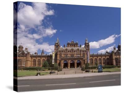 Kelvingrove Art Gallery and Museum Dating from the 19th Century, Glasgow, Scotland, United Kingdom-Patrick Dieudonne-Stretched Canvas Print