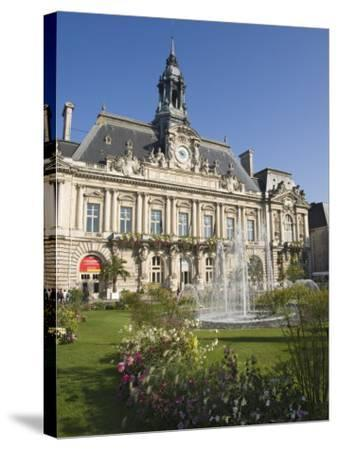 Town Hall in the City of Tours, Indre Et Loire, Loire Valley, Centre, France, Europe-James Emmerson-Stretched Canvas Print