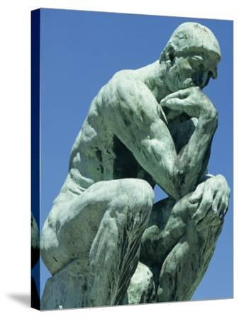 Thinker, by Rodin, Musee Rodin, Paris, France, Europe-Ken Gillham-Stretched Canvas Print