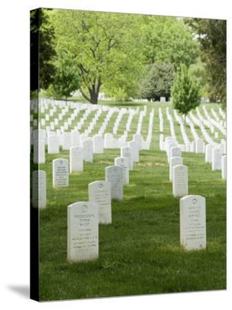 Arlington National Cemetery, Arlington, Virginia, United States of America, North America-Robert Harding-Stretched Canvas Print
