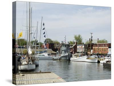 Spa Creek, Annapolis, Maryland, United States of America, North America-Robert Harding-Stretched Canvas Print