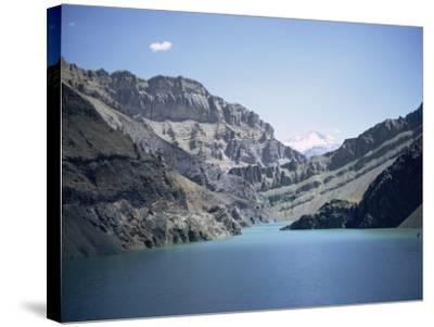Karaj Dam Lake, Iran, Middle East-Robert Harding-Stretched Canvas Print
