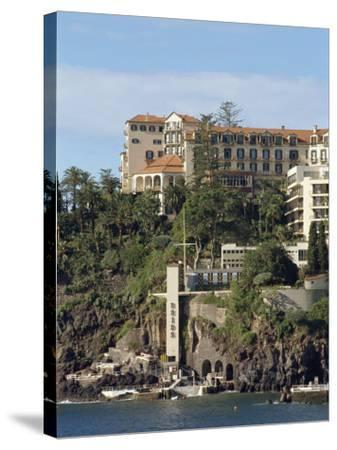 Reid's Hotel, Funchal, Madeira, Portugal, Atlantic, Europe-Harding Robert-Stretched Canvas Print