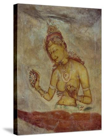 Cloud Maidens, Sigiriya, Sri Lanka-Harding Robert-Stretched Canvas Print