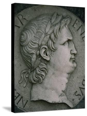 Emperor Nero in Marble, Certosa Di Pavia, Lombardy, Italy, Europe-Hart Kim-Stretched Canvas Print