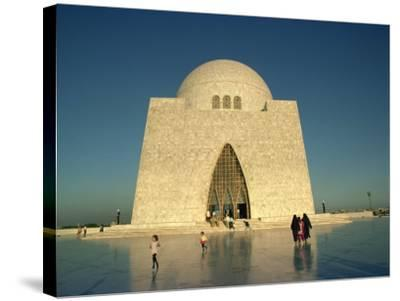 Tomb of Mohammed Ali Jinnah in Karachi, Pakistan-Harding Robert-Stretched Canvas Print