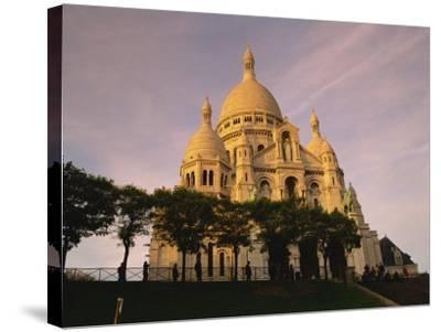 Sacre Coeur, Montmartre, Paris, France, Europe-David Hughes-Stretched Canvas Print