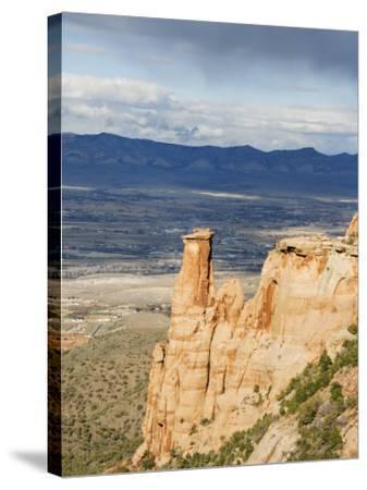 Great Colorado Plateau, Colorado National Monument, Colorado, USA-Kober Christian-Stretched Canvas Print