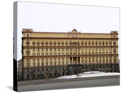 Kgb Building, Lubyankskaya Square, Moscow, Russia, Europe-Lawrence Graham-Stretched Canvas Print