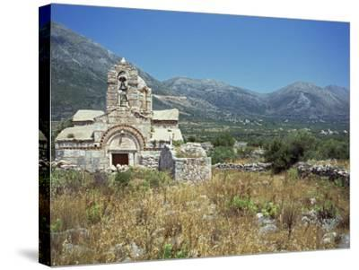 Church, Mani, Greece, Europe-O'callaghan Jane-Stretched Canvas Print