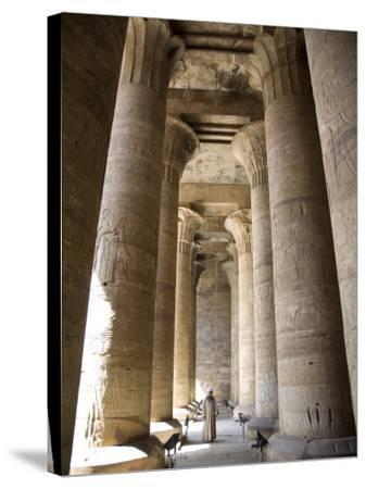 Temple of Edfu, Egypt, North Africa, Africa-Olivieri Oliviero-Stretched Canvas Print