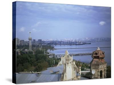 Baku, Azerbaijan, Central Asia-Olivieri Oliviero-Stretched Canvas Print