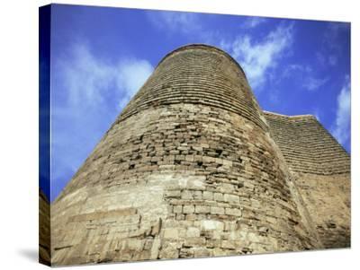 Maiden Tower, Baku, Azerbaijan, Central Asia-Olivieri Oliviero-Stretched Canvas Print