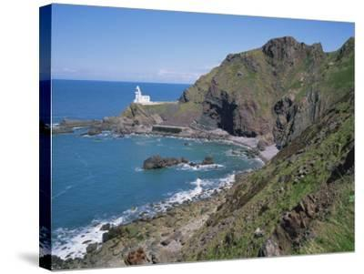 Hartland Point, North Devon, England, United Kingdom, Europe-Rainford Roy-Stretched Canvas Print